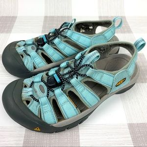 Keen Blue Newport Waterproof Sandals Sz 7.5